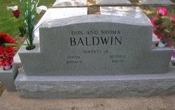 Donald Ren Don Baldwin