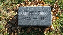 Caroline Eliza <i>Drumheller</i> Rhoads