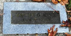Martha Gertrude <i>Gaffield</i> Abbey