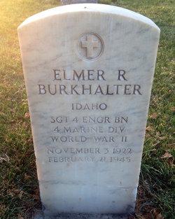 Elmer R Burkhalter