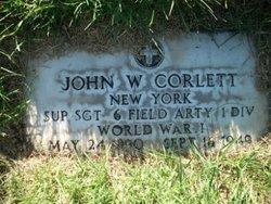Sgt John William Corlett