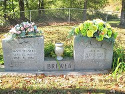 Lizzie <i>Turner</i> Brewer