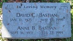 Anne <i>Beall</i> Bastian