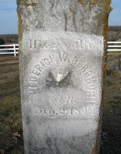 Frederick W Berghorn
