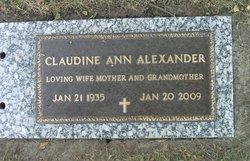 Claudine A. Alexander