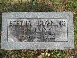 Bertha <i>Downing</i> Anthony