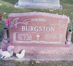 Harold C Burgston