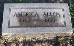 America Catherine <i>Digby</i> Allen