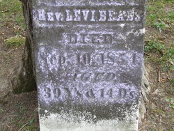 Rev Levi Beals
