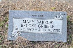 Mary <i>Barrow</i> Gribble