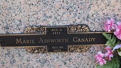 Marie <i>Canady</i> Ashworth