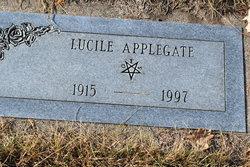 Lucille Amanda Babe <i>Brooks</i> Applegate