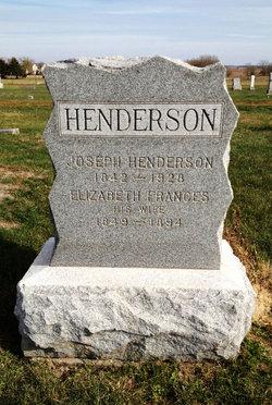Elizabeth Francis Fannie <i>Benton</i> Henderson