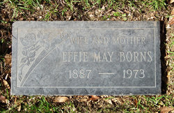 Effie Mae <i>Thompson</i> Borns