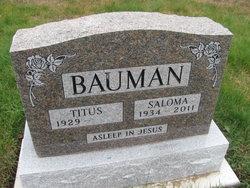 Saloma <i>Martin</i> Bauman