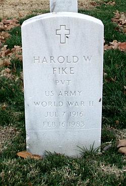 Harold W Fike