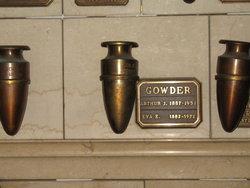 Arthur John Gowder