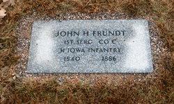 John Henry Frundt