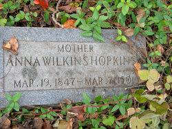 Anna <i>Wilkins</i> Hopkins