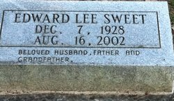 Edward Lee Sweet