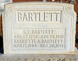 Harriett A. <i>Yancey</i> Bartlett