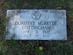 Dorothy Geneva Dot <i>McBryde</i> Cottingham