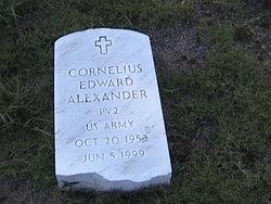 Cornelius Edward Alexander