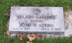 Lula Mildred <i>Gardner</i> Adkins