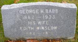 Edith <i>Winslow</i> Babb