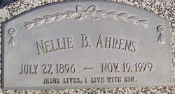 Nellie Bryan <i>Freemon</i> Ahrens