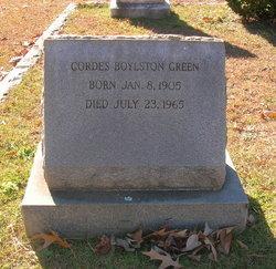 Dr Cordes Boylston Green