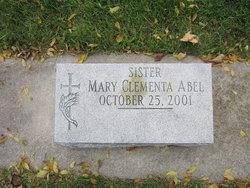 Sr Mary Clementa Abel