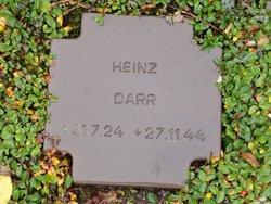 Heinz Darr