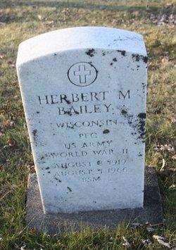 Herbert M Bailey