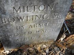Milton Bowling, Sr