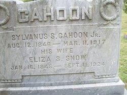 Eliza Sanford <i>Snow</i> Cahoon