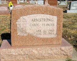 Carol Frances <i>Carpenter</i> Armstrong