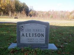 Lois <i>Ferrell</i> Allison