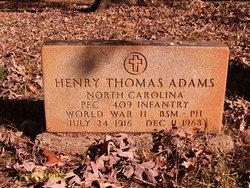 PFC Henry Thomas Adams