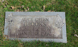 Alice <i>Green</i> Brooks