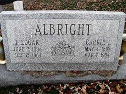 J Edgar Albright