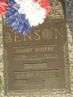 Albert Buster Benson