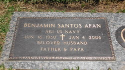 Benjamin Santos Afan