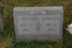 G Richard Dickey Albright