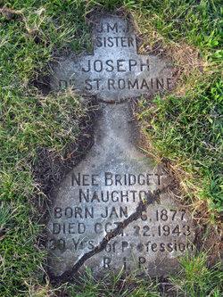 Bridget Sr. Joseph De St. Romaine Naughton