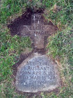 Reine Sr. Lucie De Marie Aussant