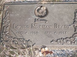 Louise <i>Norman</i> Brady