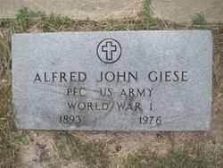 Dr Alfred John Giese