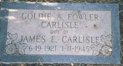 Goldie Alene <i>Fowler</i> Carlisle