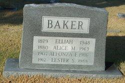 Alfonza E. Baker